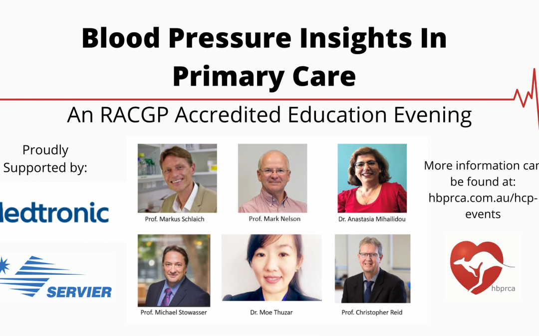 Blood Pressure Insights for Primary Care – Our online education event!