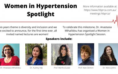 Women in Hypertension Spotlight!